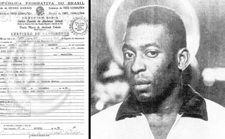 Pelé cumple 74 años: el gran error en su partida de nacimiento