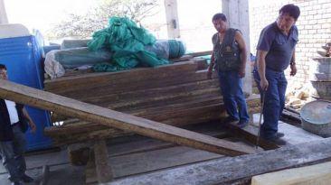 Incautan 19.730 pies de madera ilegal en lo que va del año