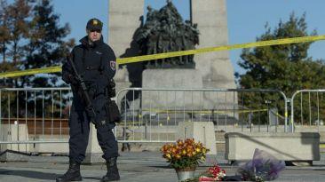 Canadá amaneció rodeado de policías un día después del tiroteo