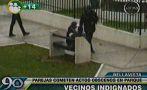 'Actos contra el pudor' en Bellavista captados por cámaras