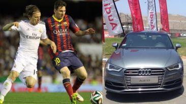 Audi lanzó esta propaganda por el derby español