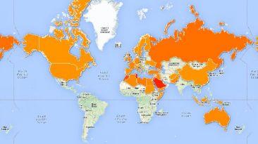[MAPA] Los países que más yihadistas envían al Estado Islámico