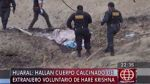 Huaral: ciudadano canadiense muere calcinado en extraño ritual - Noticias de