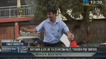 Eligieron por sorteo a alcalde de Santa Bárbara de Carhuacayán