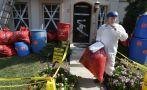 EE.UU.: Decoró su casa para Halloween con temática de ébola