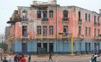 Incendio en Plaza Dos de Mayo: casona no será derrumbada