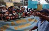 Trabajadores ediles de Chiclayo continúan con protestas