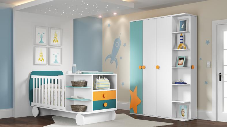 Lo nuevo en cunas 5 ideas para decorar el cuarto de tu for Cuarto mas empresa