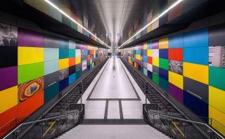 Recorre estas coloridas estaciones de trenes en Munich