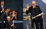 Quino recibió el premio Príncipe de Asturias en España