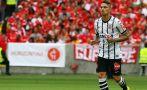 Le redujeron sanción de tres fechas a Paolo Guerrero en Brasil