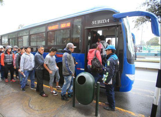 Municipalidad de Barranco rechaza paraderos del corredor azul