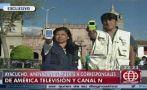 Ayaucho: corresponsales de televisión son amenazados de muerte