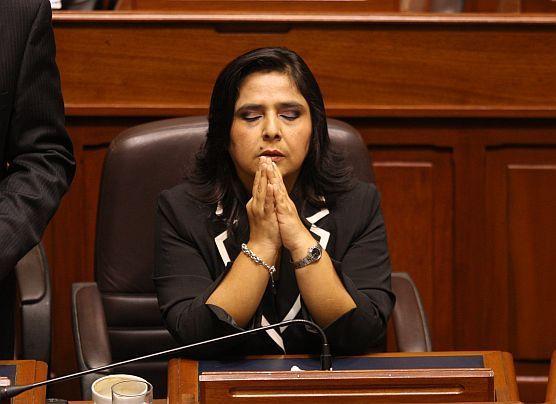Ana Jara irá el próximo viernes a la Comisión López Meneses