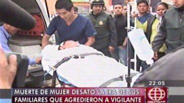 Fiori: golpiza fracturó costillas y luxó coxis de vigilante