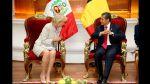 Ollanta Humala y Nadine Heredia recibieron a la princesa Astrid - Noticias de