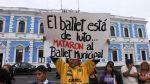 Una singular protesta en la Plaza de Armas de Trujillo - Noticias de plaza de armas de trujillo