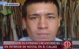 Joven murió al caer del tercer piso de un hotel del Callao