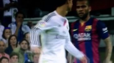 Dani Alves increpó a Cristiano Ronaldo por intento de agresión