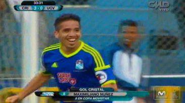 Sporting Cristal goleó 4-1 a César Vallejo con tres de Maxi