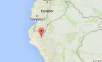 Sismo de 4,4 grados no produjo daños en Huancabamba