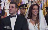 Nicola y Angie se vistieron de novios