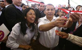 Nadine apoyaría a Ollanta si postula a la presidencia el 2021
