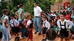 Ollanta Humala inauguró sistema de huaros y bailó tirolés - Noticias de sarita colonia
