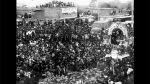 Así Ocurrió: En 1996 el Cristo Morado llega a Villa El Salvador - Noticias de carlos moran soto