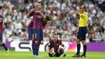 Andrés Iniesta sufrió rotura muscular en caída ante Real Madrid - Noticias de andrés iniesta