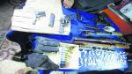 PNP incauta armamento de guerra escondido en vivienda - Noticias de armamento