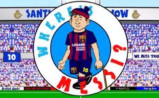 ¿Dónde está Messi? Parodia animada tras Real Madrid-Barcelona