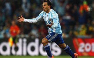 Carlos Tevez está de vuelta en la selección argentina