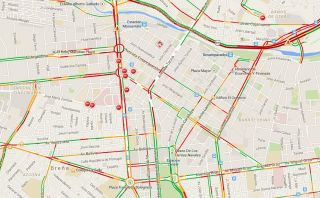 [Mapa] Mira el tráfico por procesión del Señor de los Milagros