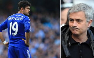 Mourinho fastidiado con España por lesión de Diego Costa