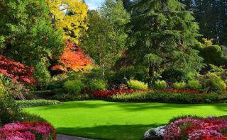 Estos hermosos jardines parecen de un cuento de hadas