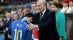 """Blatter: """"Fue incorrecto"""" darle el Balón de Oro a Lionel Messi - Noticias de mundial brasil 2014"""