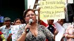 Municipalidad de Lima: Ida Ávila fue retirada en forma pacífica - Noticias de la parada