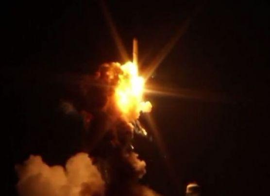 Explota el cohete Antares segundos después de su lanzamiento