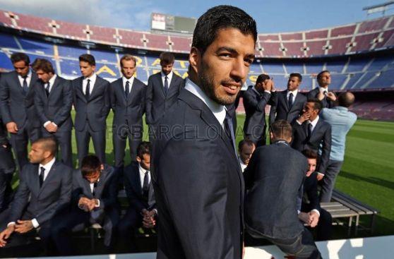 Barcelona se hizo la foto oficial con todas sus estrellas