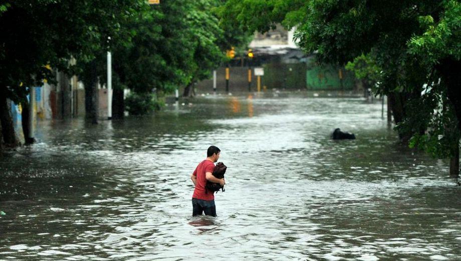 Buenos Aires sufre inundaciones por un fuerte temporal
