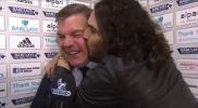 Conocido actor celebró con un beso a DT que venció al Man. City
