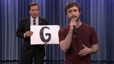 Daniel Radcliffe sorprende con su habilidad para el hip hop