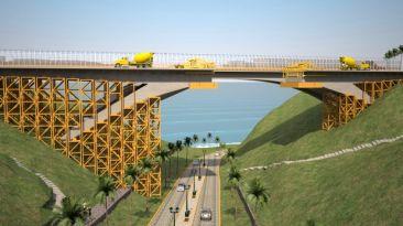 Desde noviembre se construirá el puente mellizo al Villena
