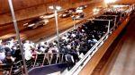 Metropolitano: caos y largas colas en estaciones por procesión - Noticias de tráfico vehicular