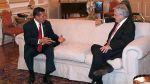 Ollanta Humala se reunió con Sebastián Piñera en Palacio - Noticias de palacio de gobierno