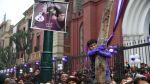 La fe por el Señor de los Milagros se hizo sentir en las calles - Noticias de cristo moreno