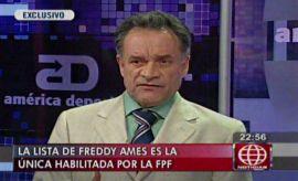 "Freddy Ames sobre tacha a Burga: ""Concluye una mala etapa"""
