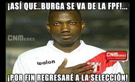 #FUERABURGA: más memes de la tacha a Manuel Burga en la FPF