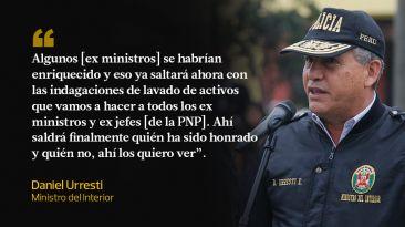 Daniel Urresti vs. Ex ministros: las frases que se han dedicado